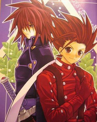 Lloyd et Kratos