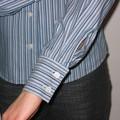 Poignet chemise rayée
