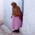 Une éthiopienne dans une rue d'Harar