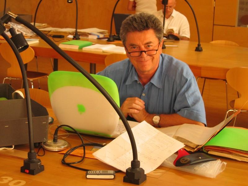 Claude Bavoux, chercheur