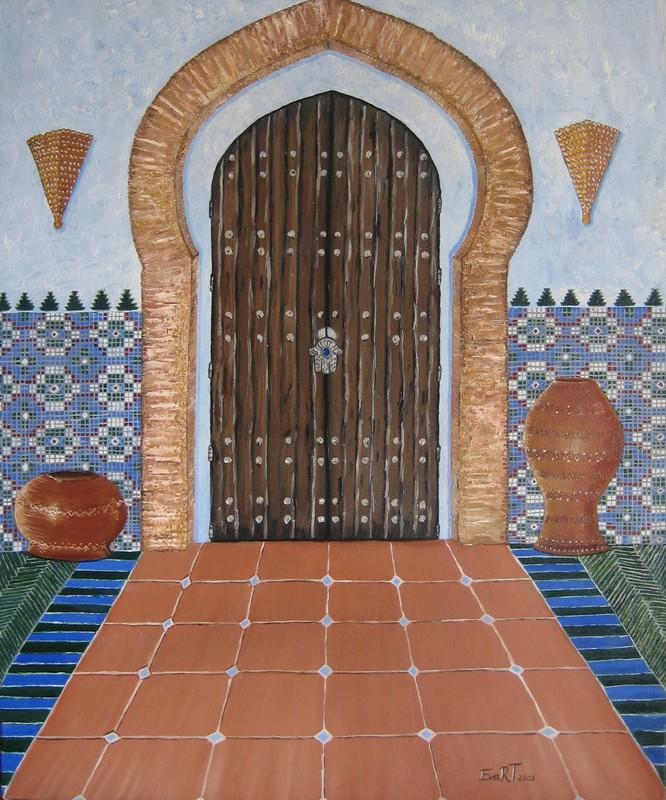 Puerta de mi Ryad - Porte de mon Ryad