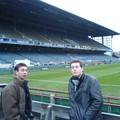 Visite de Lansdowne Road Stadium avant le match de rugby Ireland Wales