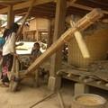 Batteuses de riz , Ban Sop Chem