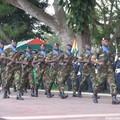 Soldats du Bataillon Blindé.
