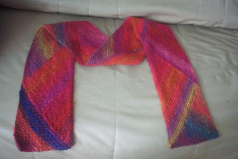 Multidirectional scarf noro