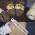 Laine à chaussettes et laine à dentelles