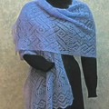 Lacy Lattice Stole