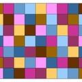 Un plaid multicolore