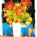 art floral - montage exotique