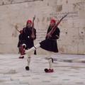 Athènes avril 2003 Relève de la garde