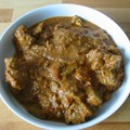 Curry d'agneau