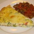 Tarte légumes & mozzarella - Champignons à la grecque du 4/11