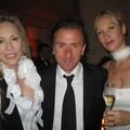 Faye Dunaway, Tim Roth et sa femme Vicky
