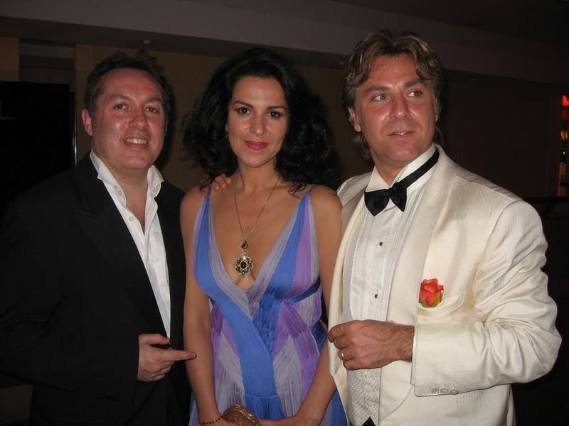 Roberto Alagna et son épouse (ouverture)