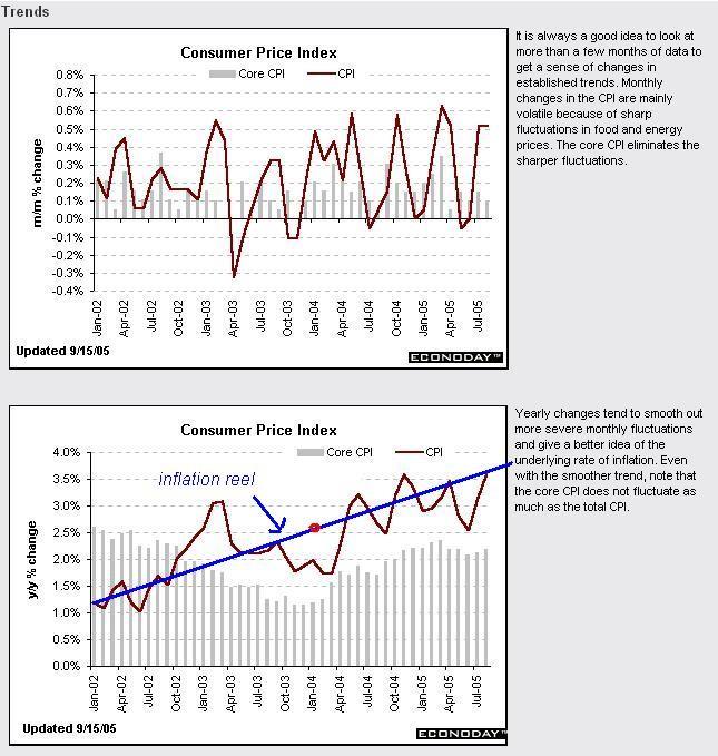inflation / inflation réelle et statistiques officielles  Cpi