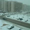 Studentski grad sous la neige