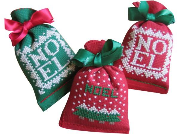 sachets de Noël