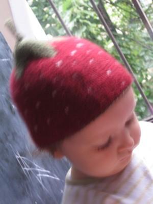 le bonnet fraise