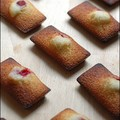Financiers framboise