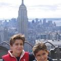 adam et coby dvt l'empire state building