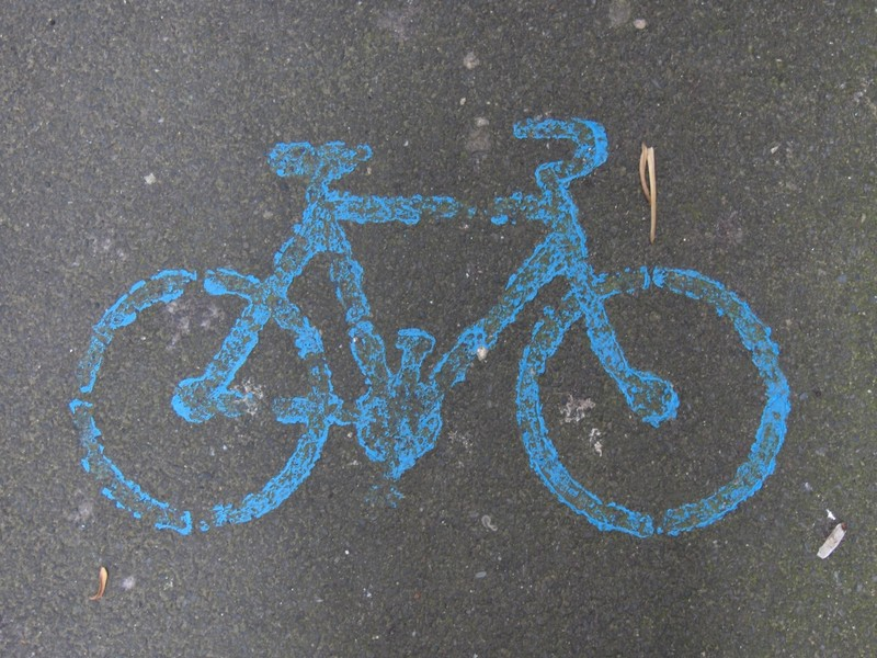 A bicyclette .... !