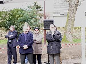 Inauguration du chalet des boulistes Bernard Heslot