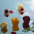 Glaçons colorés