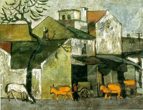 cows_passing_the_town