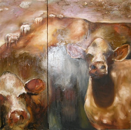 Light and cows