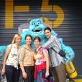 Avec ma mère et mes cousines de Hongrie