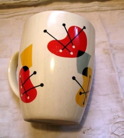 La tasse du matin jamais chagrin, par Ninon