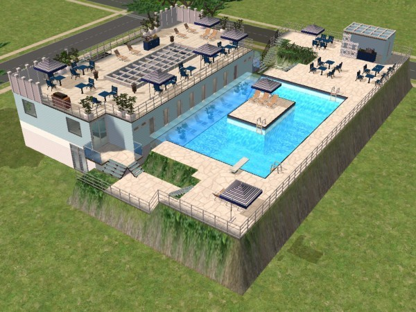 Piscine original les sims 2 for Piscine hors sol originale