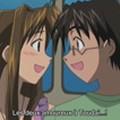 Naru et Keitaro