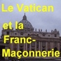 Le Vatican, Benoît XVI et la Franc-Maçonnerie