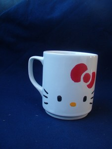 HK Coffee Cup Painting