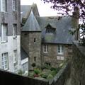 Le charme de l'architecture du Mont St Michel