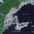 Ushuaia par un satellite