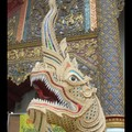Lundi 22/05 - Chiang Mai - Pas kitch du tout le dragon