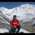 Népal - Trek - Front of the Annapurna 1 (8127m)