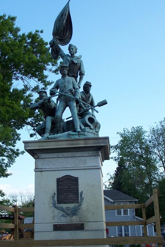 Le monument de la guerre de Sécession