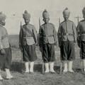 Soldats Régiment Baluchi