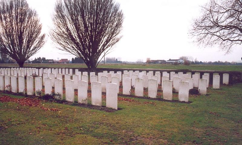 le carré indien de Vieille Chapelle military Cemetery La Couture (62)