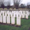 le carré indien de Rue David Military Cemetery Fleurbaix