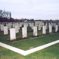 le carré indien de St Vaast Post military Cemetery Richebourg (62)