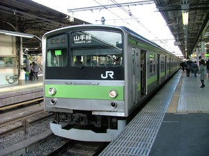 yamanote train japan railway 02