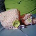 Bonnet et chaussons petit bébé