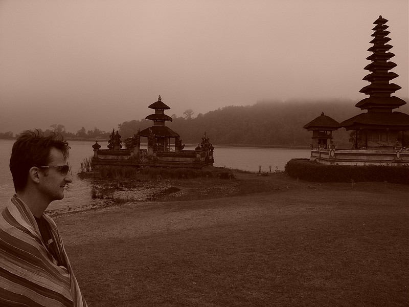 Temple on the water