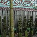 Dayak statues