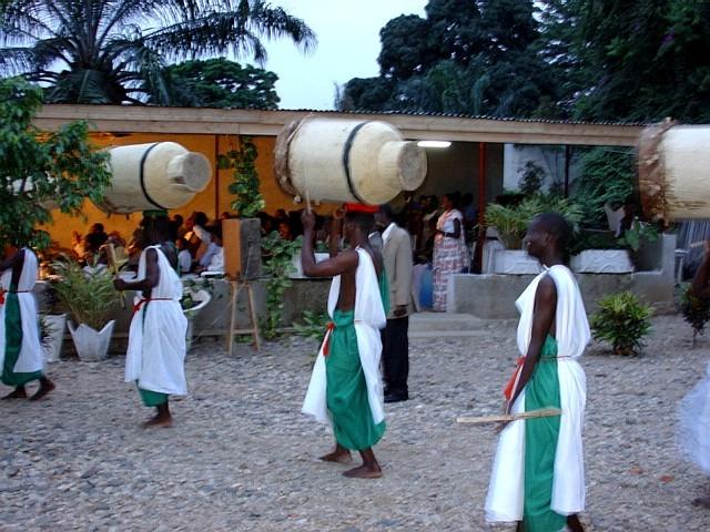 Traditional drums of Burundi