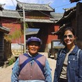 Rita and an old Naxi woman